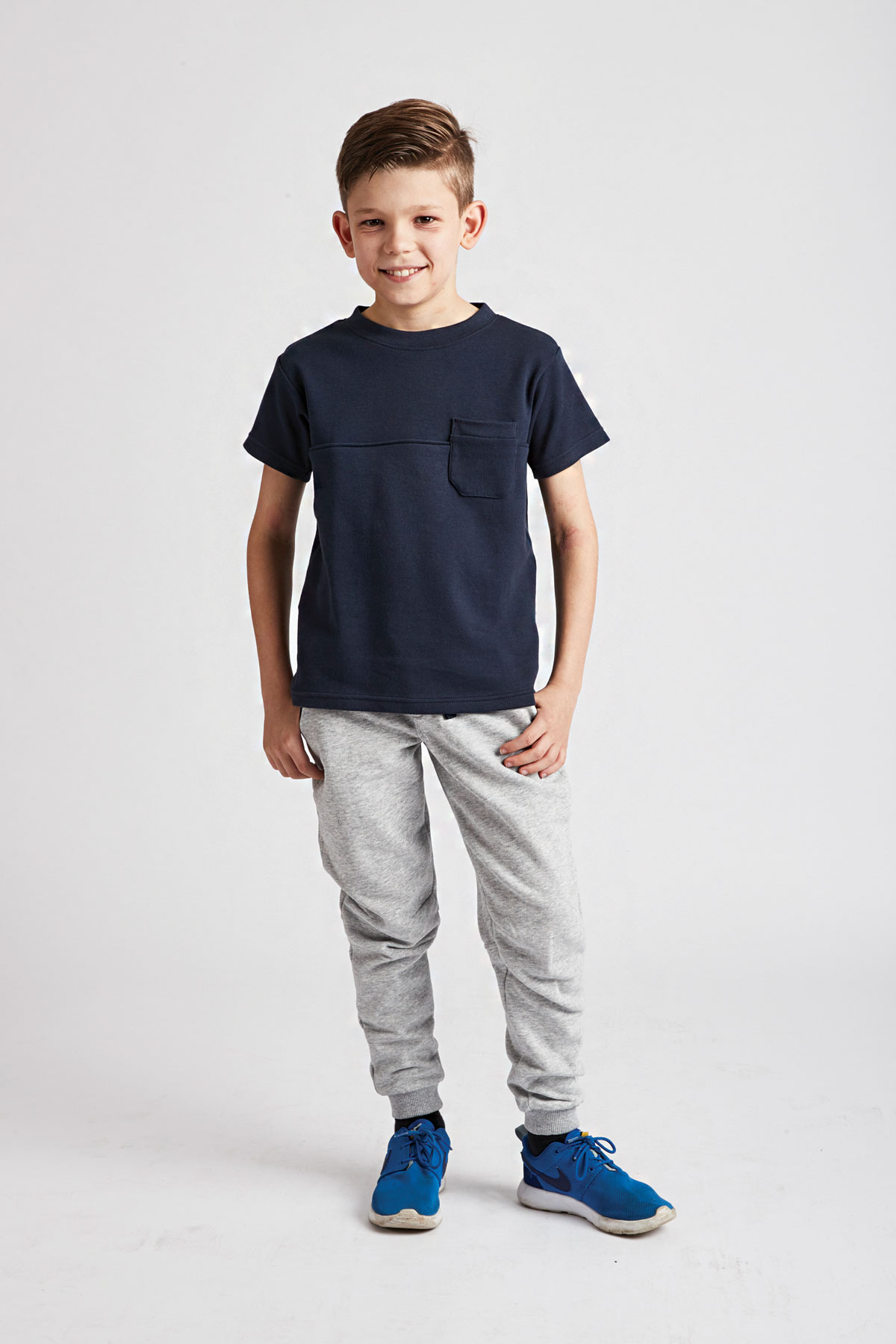 d25df341cf Navy Sun's Out Tee | Boys Navy T-Shirt | Grass & Air
