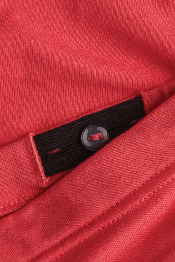 girls coral leggings internal waist adjuster detailing