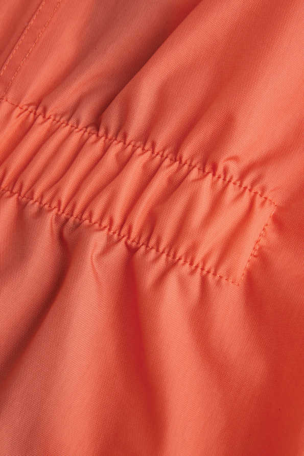 coral puddle suit elasticated back waist detail