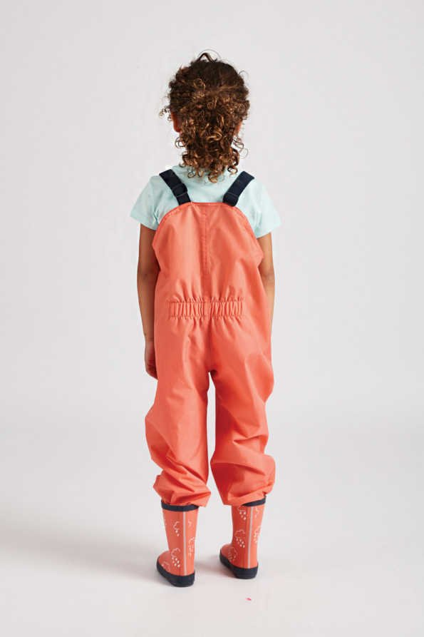 infant coral stomper slacks lifestyle rear product view