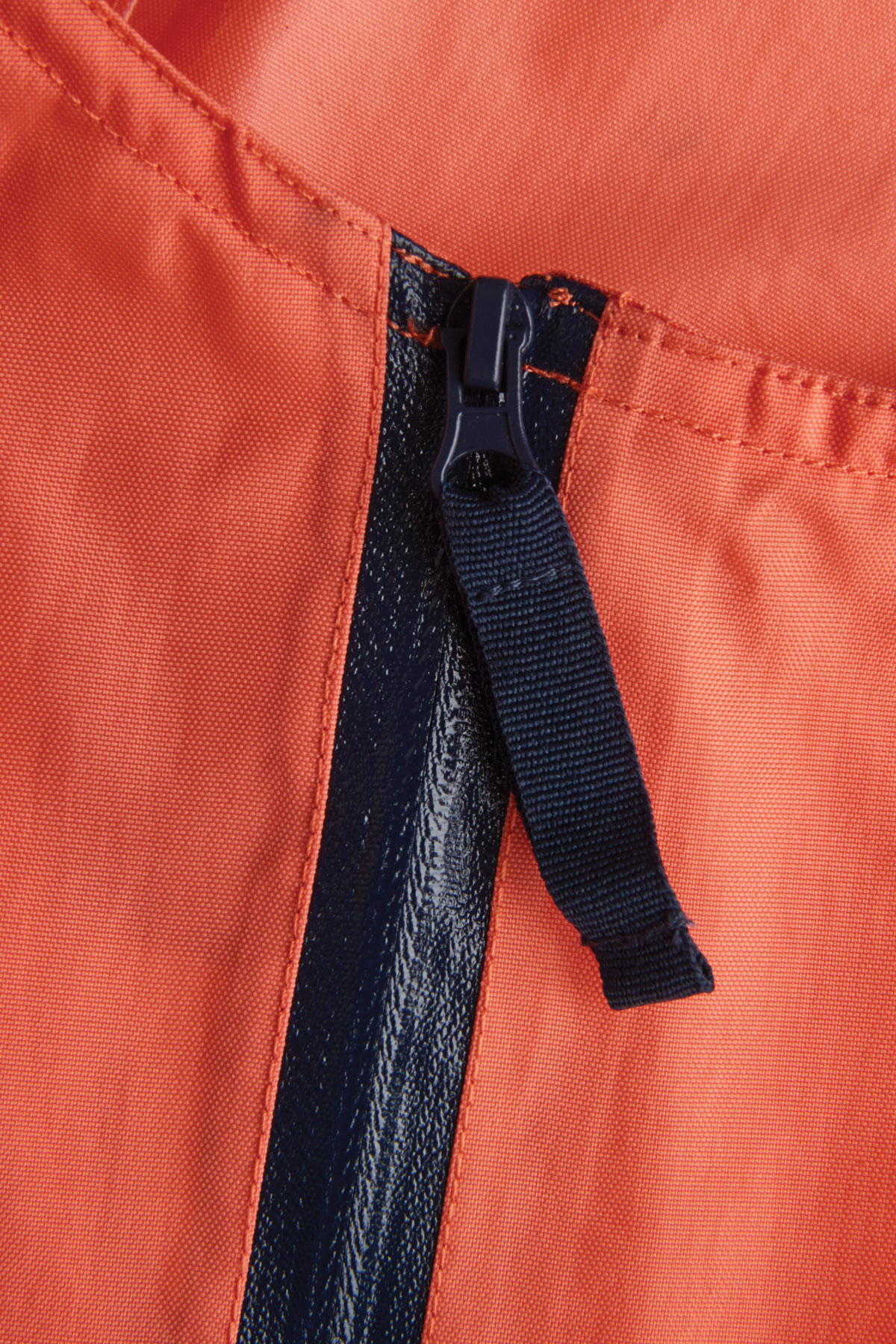 kids coral stomper slacks zip detail