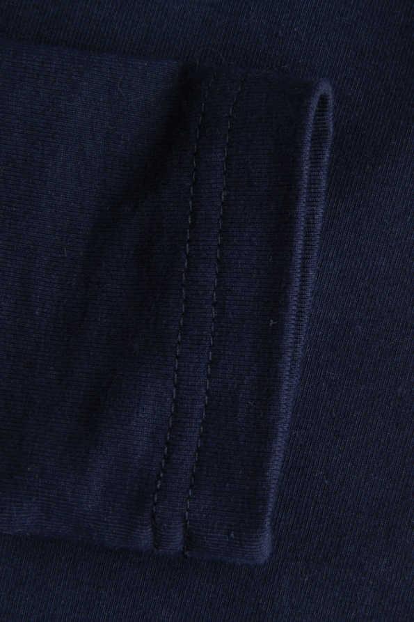 navy girls leggings leg hem detail