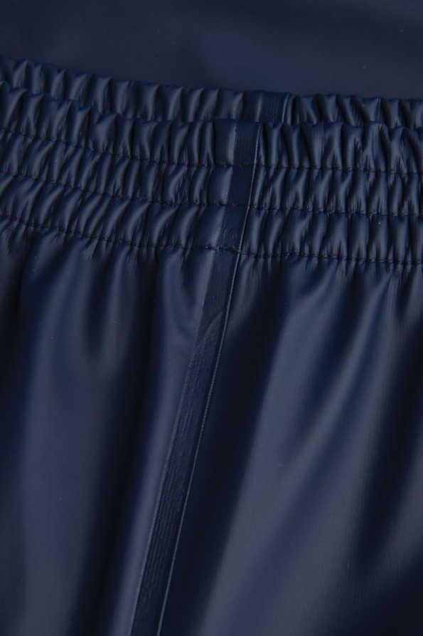 kids waterproof trousers elasticated waist detail