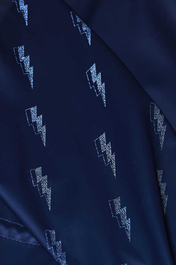 lightning bolt light catcher glowing reflective pattern detail