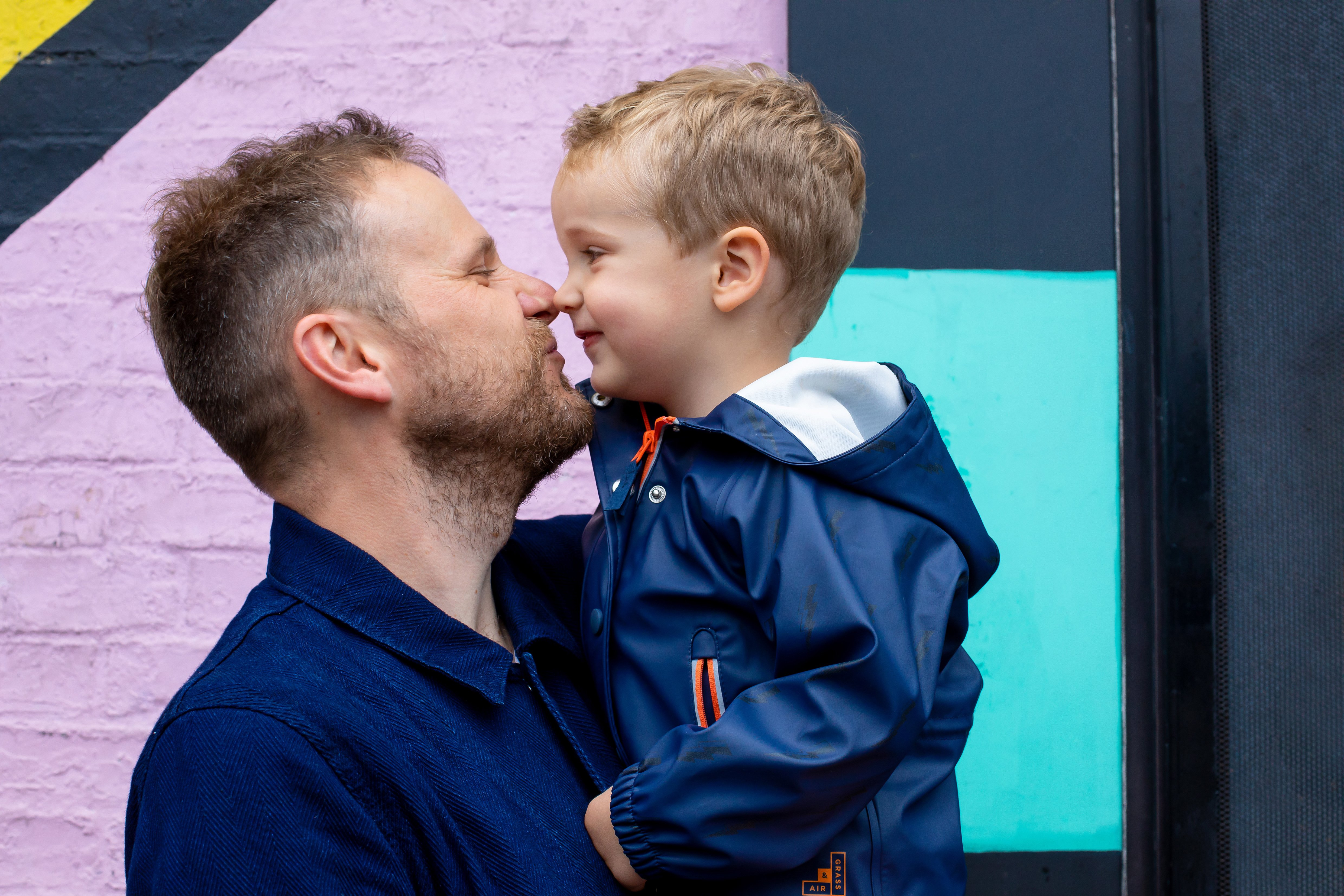 Insta Walls, Dadventures and Father's Day blog post: A Day In The Life Dad with son Arlo.