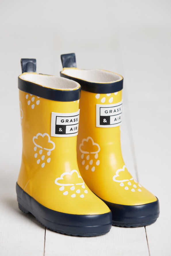 Kids Yellow Welly