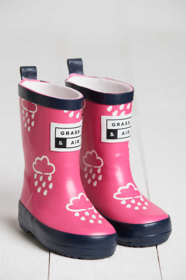Kids Pink wellies