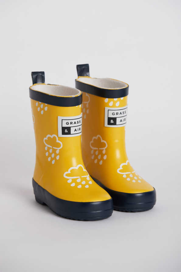 Kids Yellow Wellies