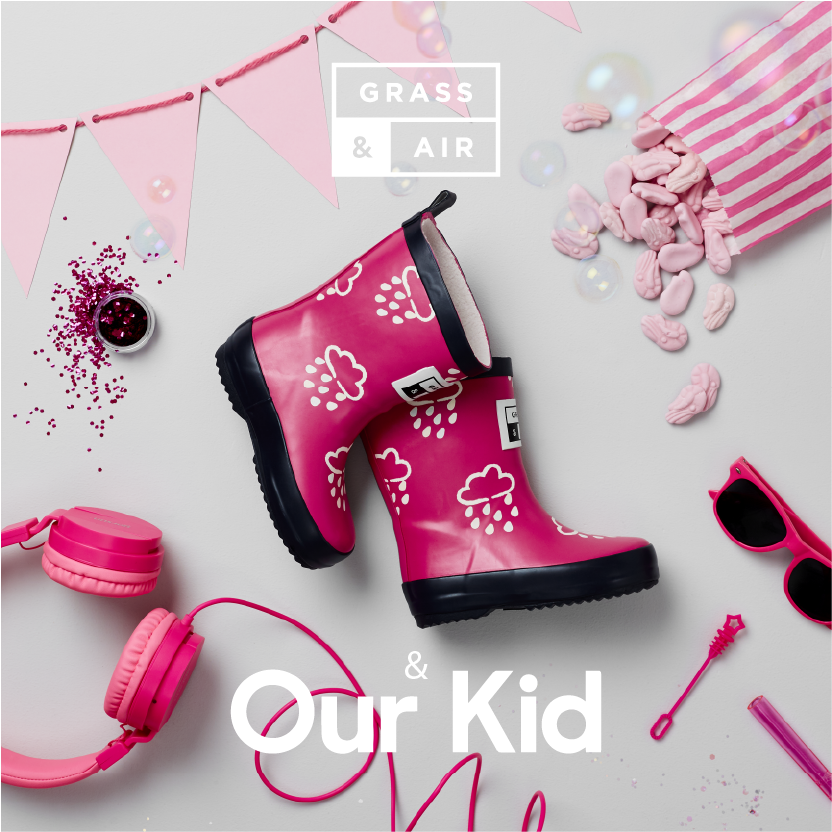 Pink welly x our kid-01