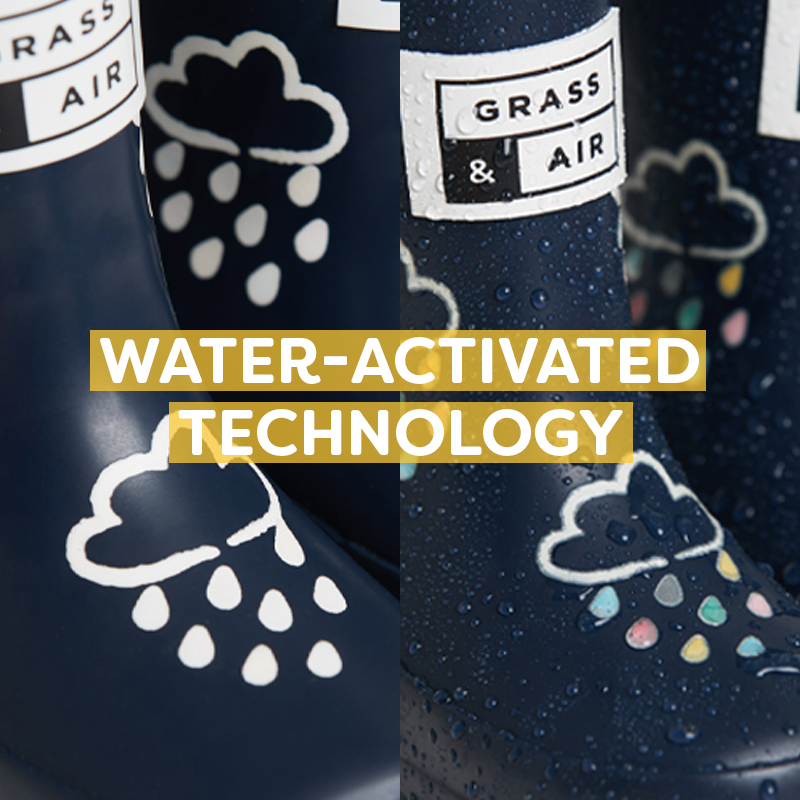Water-activated wellies