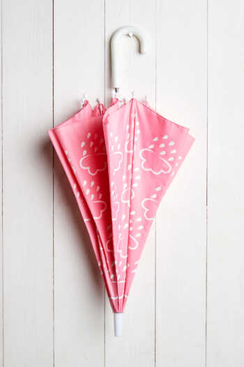 baby pink toddler umbrella