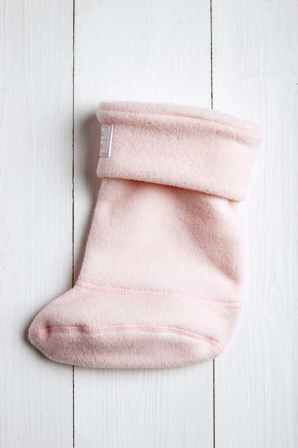 baby pink kids welly socks