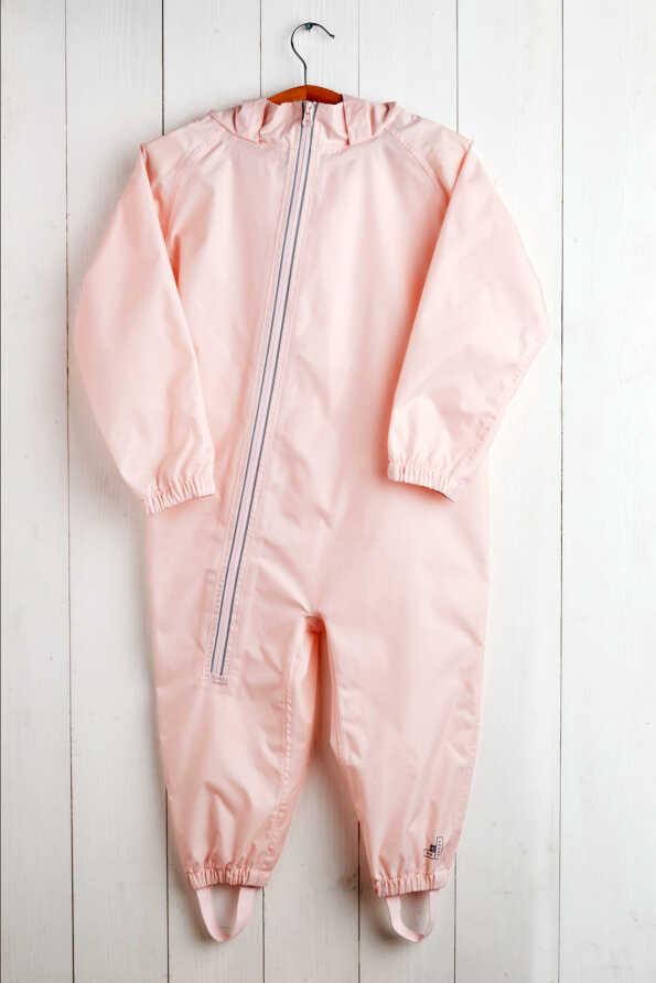 baby pink stomper suit